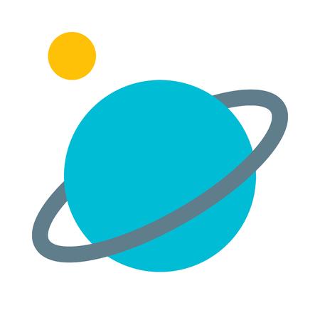 Planet solar system Illustration