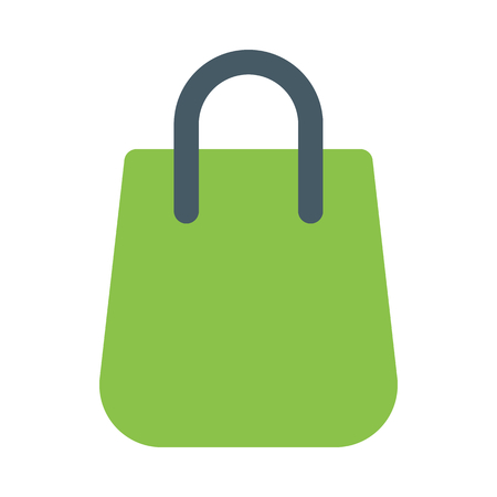Online shopping bag  イラスト・ベクター素材