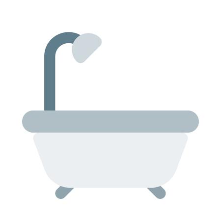 Bathtub with shower