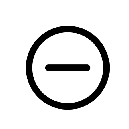 minus circle