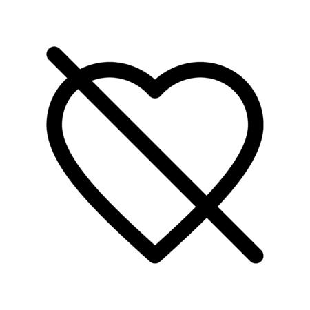 no love Illustration