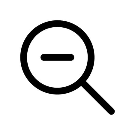 search minus Ilustração