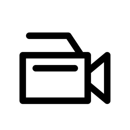 video camera illustration