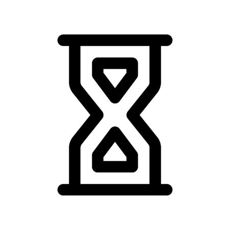 hourglass full  イラスト・ベクター素材