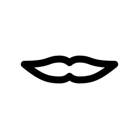 mustache style Illustration