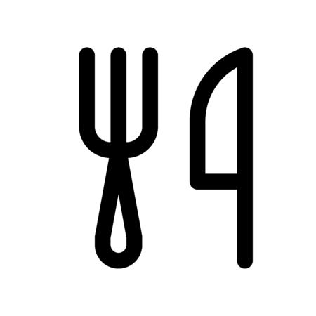 fork knife Çizim
