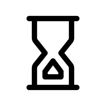 hourglass end