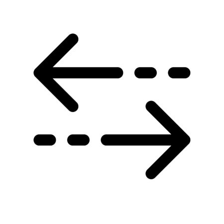 transfer arrow Vector Illustratie