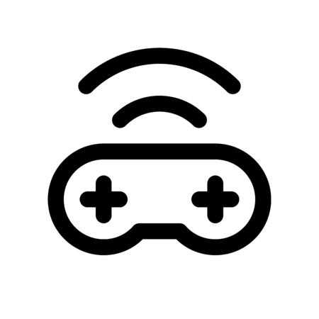 gaming remote Ilustração
