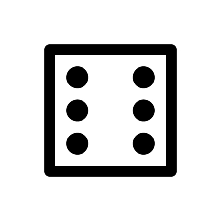 dice count six