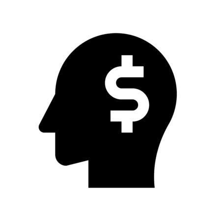 dollar de tête Vecteurs