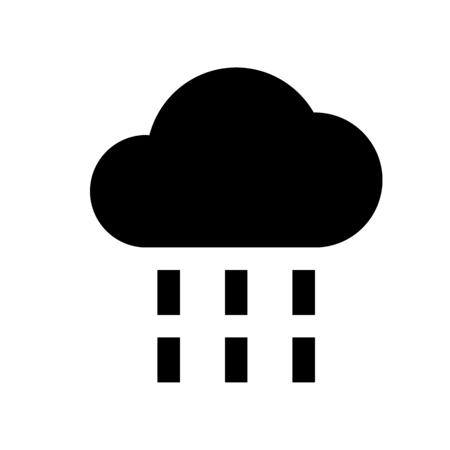 rain  イラスト・ベクター素材