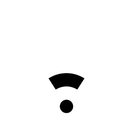 wifi low signal Ilustrace