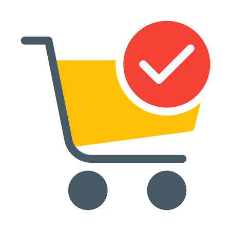Done or Verified Cart Vectores