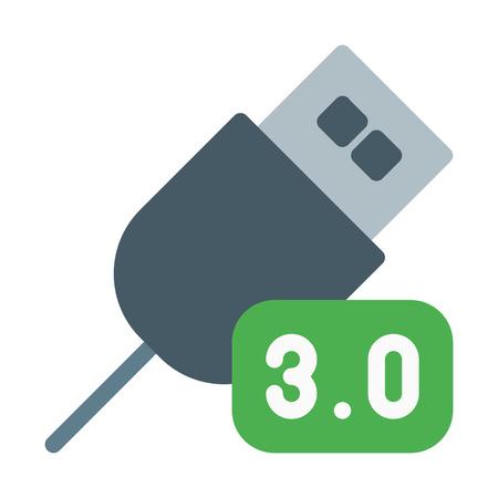 USB Third Generation 向量圖像