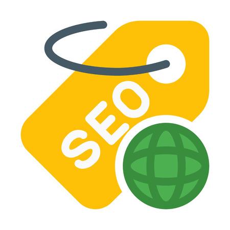 Global Seo Tag Illustration