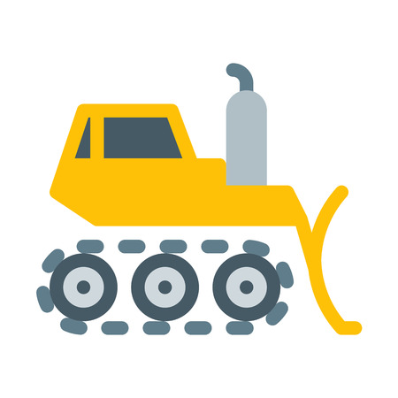 Bulldozer Construction Vehicle