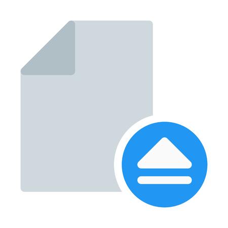 Eject Media File Illustration