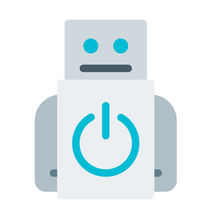 toy robot Stock Vector - 114712873