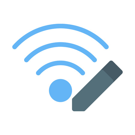 Edit Wifi Network Stock Illustratie