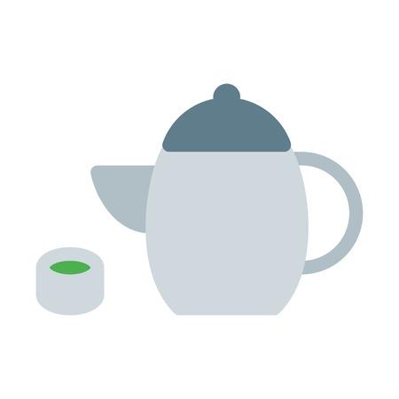 Calming Green Tea Иллюстрация