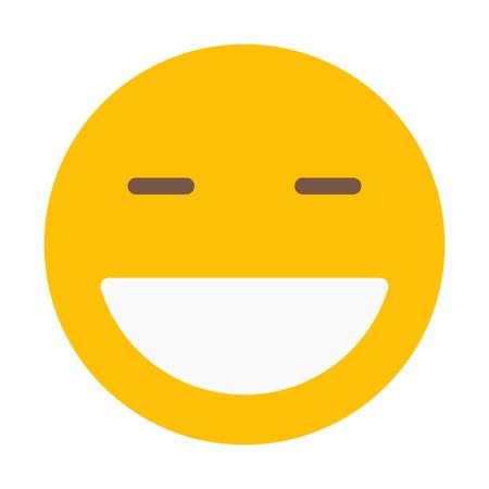 Happy Face Emoticon Banque d'images - 126400972