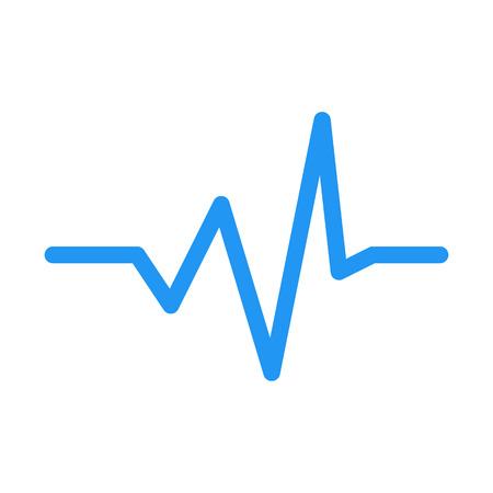 Audio Wave Graph Banco de Imagens - 126401079