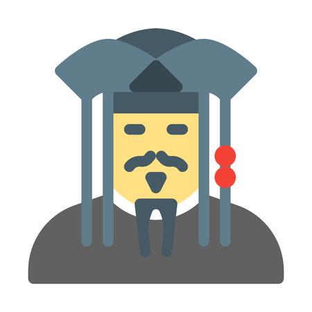 Pirate Jack Sparrow Illustration