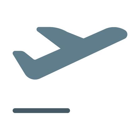 Airplane Departing Symbol