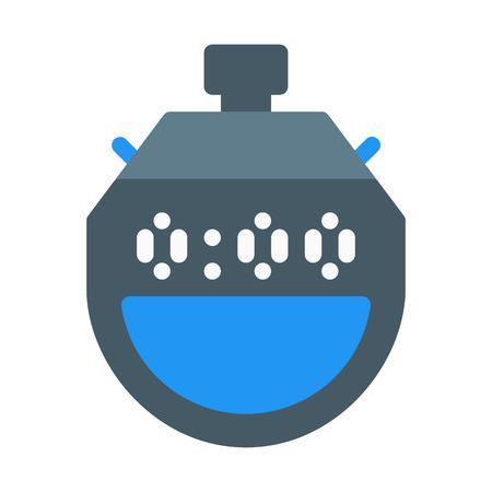 Handheld Stop Watch Stock Illustratie