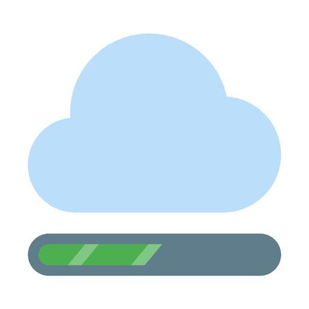 Cloud processing bar