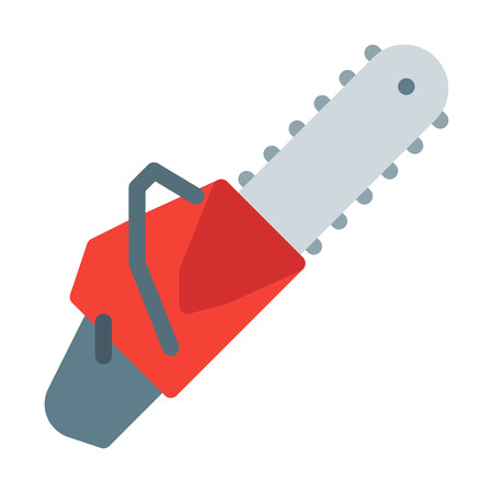 Chainsaw Cutting Tool Illustration