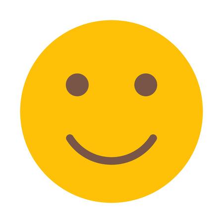 Smiling Face Emoticon Banque d'images - 126403728