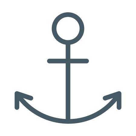 Ship Anchor Symbol