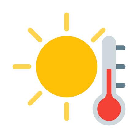 Hot Temperature Vettoriali