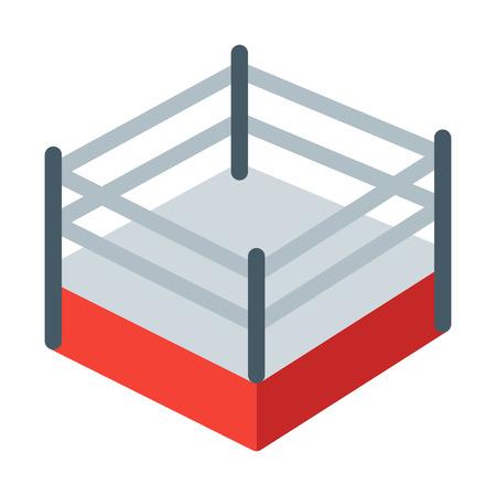 Boxing Match Ring