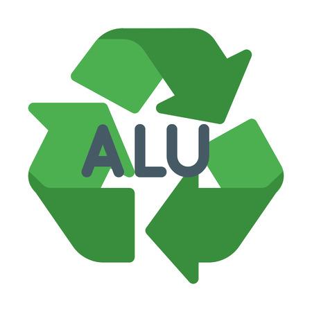 Alu Recycle Symbol