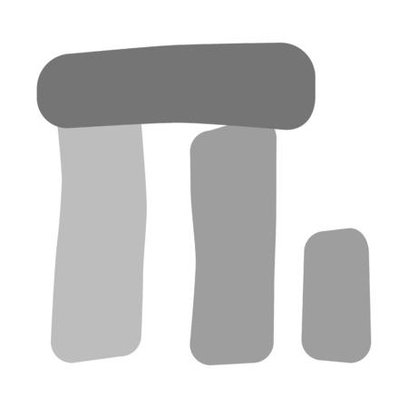 Stonehenge England Monument Illustration