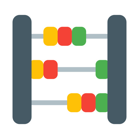 Baby Abacus Toy Illustration