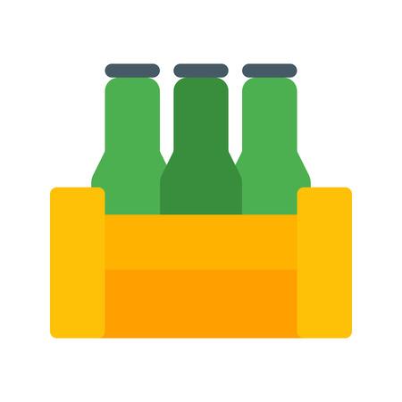 Beer Bottles Crate