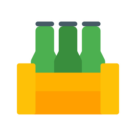 Beer Bottles Crate