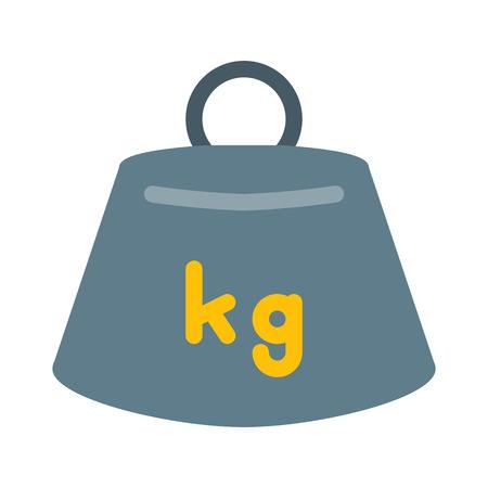 Weight Measurement Scale Stock Vector - 126404186
