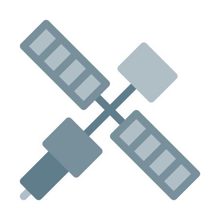 Communications Satellite Transmission Ilustração