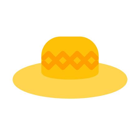 Straw Hat  イラスト・ベクター素材