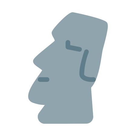 Easter Island Monument Stock Vector - 126404437