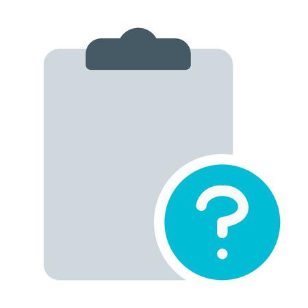 Question or Help Checklist Çizim