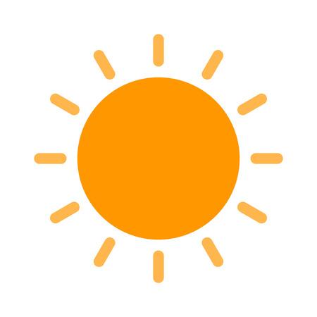 Bright sun in sky Vettoriali