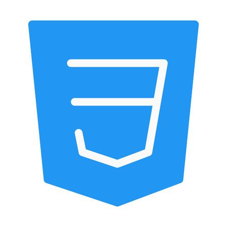 CSS Programing Language Vetores