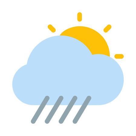 Cloudy rainstorm day