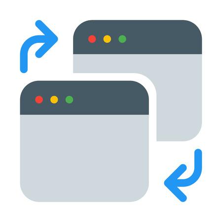 Switch Application Tab Illustration